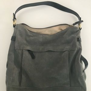 J.Crew Suede Shoulder Bag